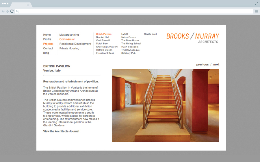 Brooks Murray : Website Design And Build