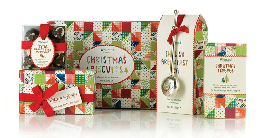 Whittard Of Chelsea : Christmas Packaging Design