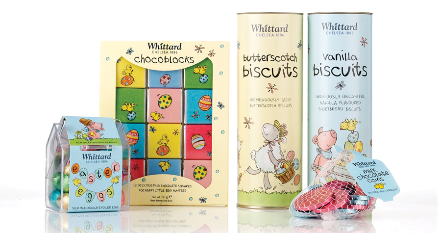 Whittard Of Chelsea : Easter Childrens Packaging Design
