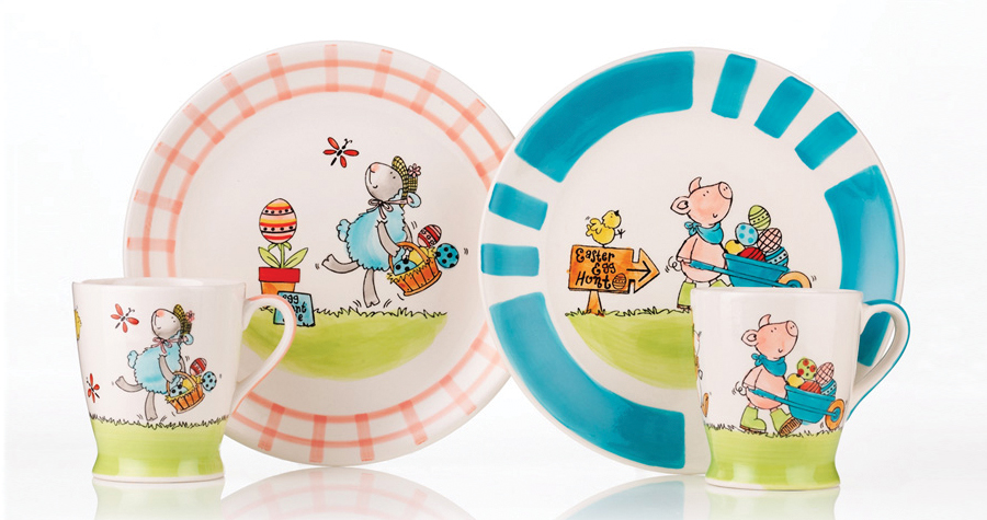 Whittard Of Chelsea : Easter Childrens Ceramic Design