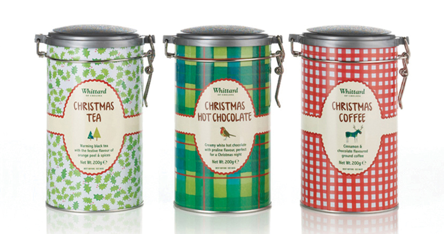 Whittard Of Chelsea : Christmas Hot Drinks Design