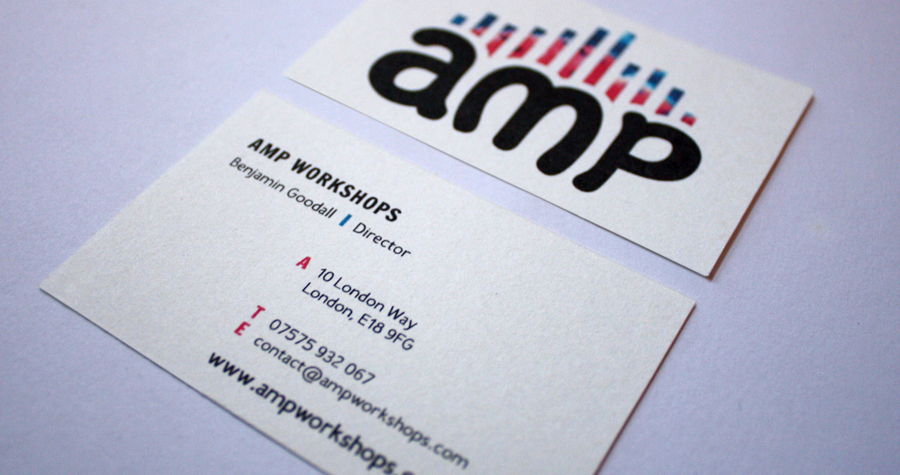 AMP Workshops : Business Card
