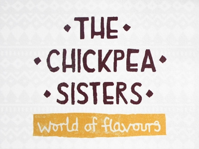 The Chickpea Sisters : Logo