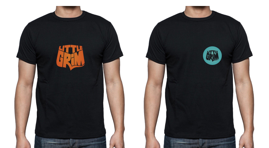 T-shirt designs for the great, new band Little Grim. Recently signed to Peer Music in 2015. Visit: www.littlegrimmusic.com