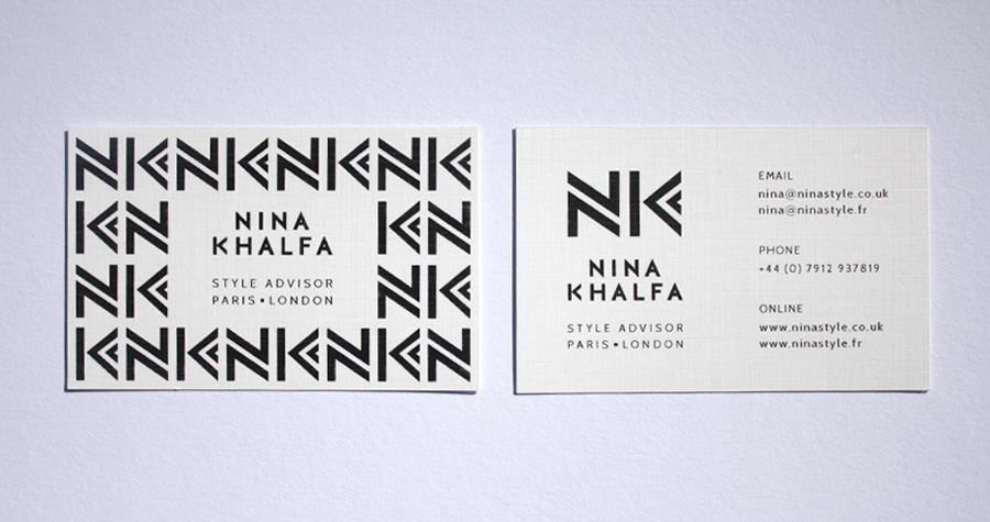 Nina Style : Business Card