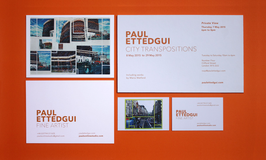 Paul Ettedgui : City Transpositions