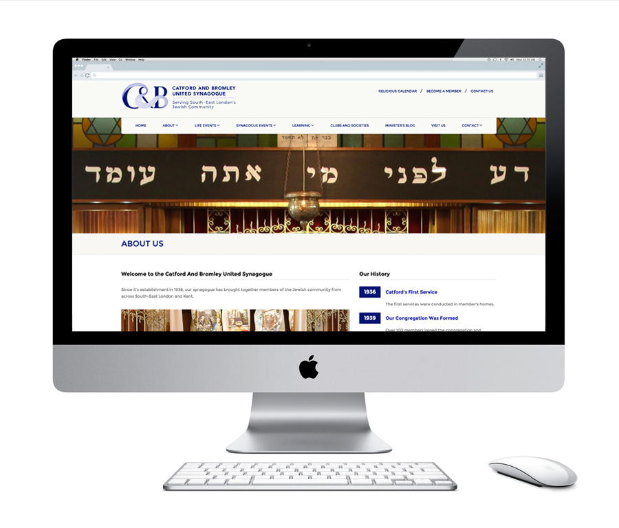 Catford And Bromley United Synagogue Website