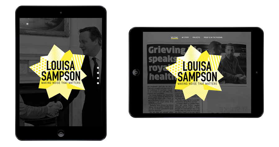 Me And You Create Louisa Sampson Responsive Website Design
