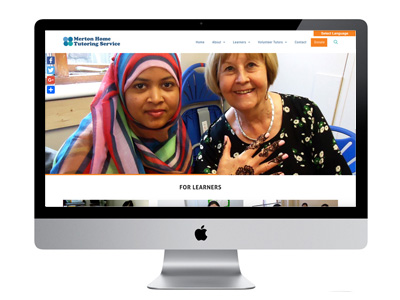 Me And You Create Merton Home Tutoring Service Website