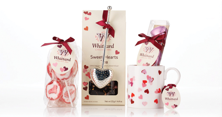 Whittard Of Chelsea : Valentines Day Packaging Design