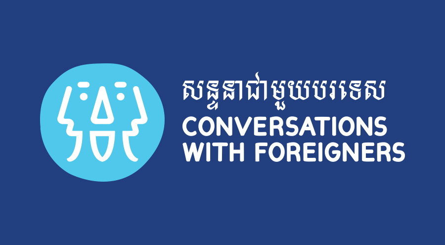 Conversations With Foreigners : Logo