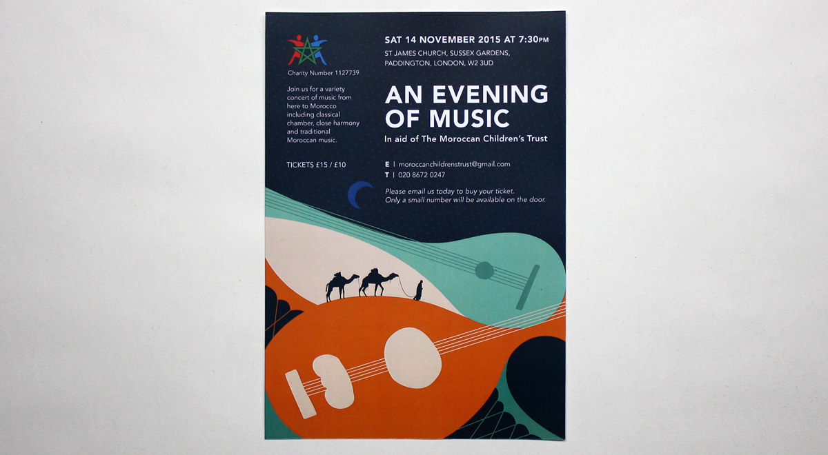 Moroccan Children's Trust. An Evening Of Music.