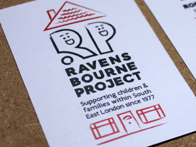Ravensbourne Project Logo and Branding