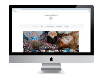 Sleeping Beauties Website Design And Build