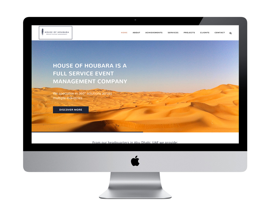 Me And You Create House Of Houbara Website Design