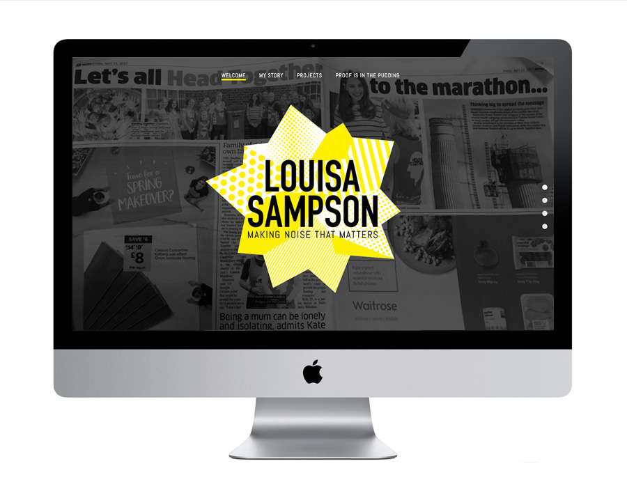 Me And You Create Louisa Sampson Website Design