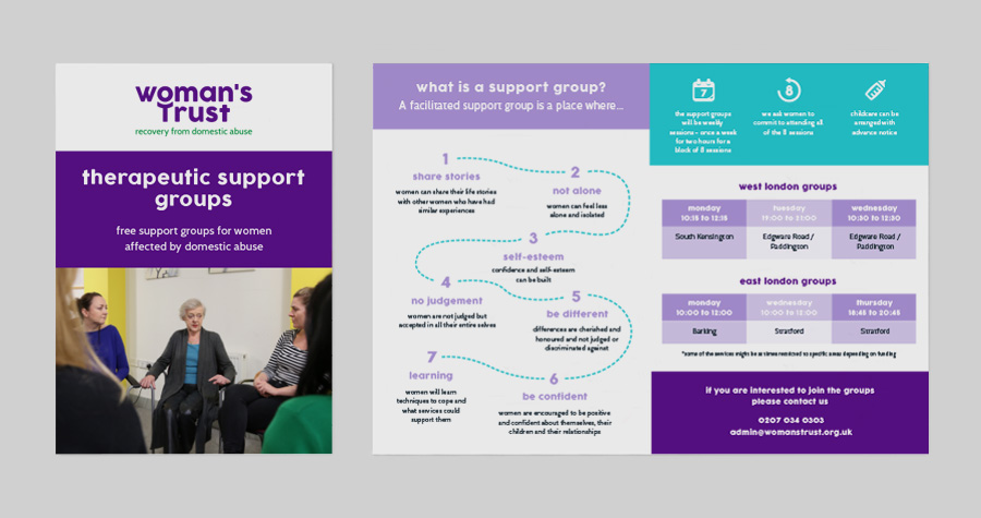 Me And You Create Therapeutic Services Leaflet