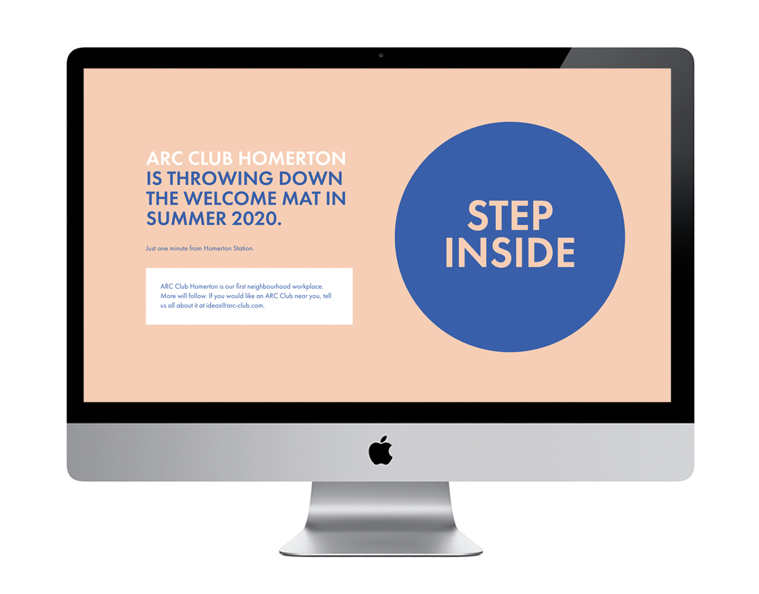Me And You Create Design ARC Club Website Design and Build